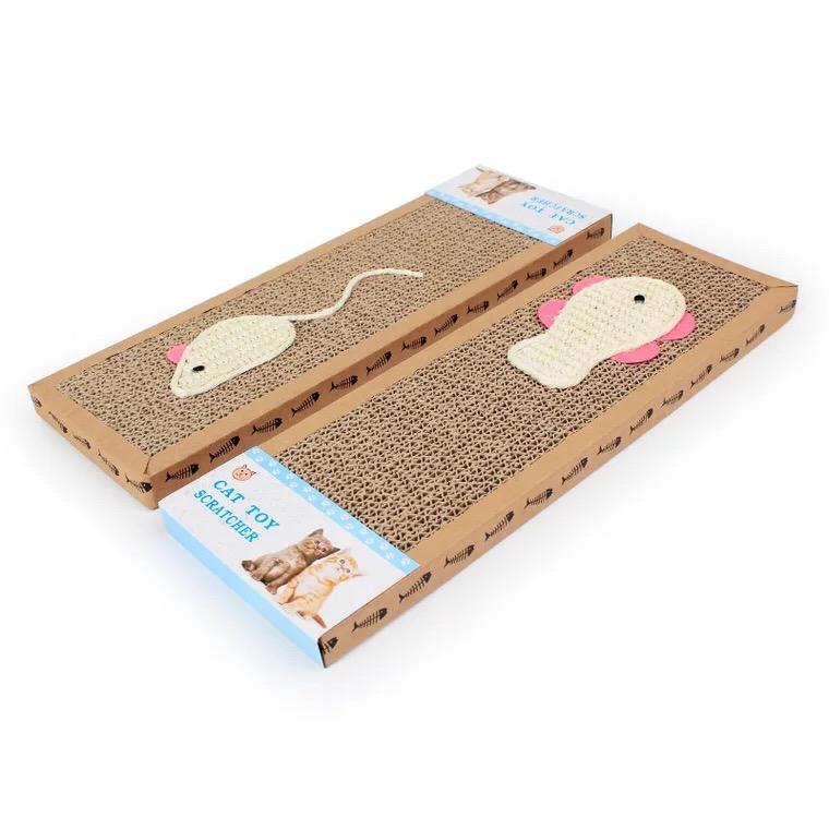 Đồ Chơi Bàn Cào Móng Mèo [Mẫu chữ nhật]