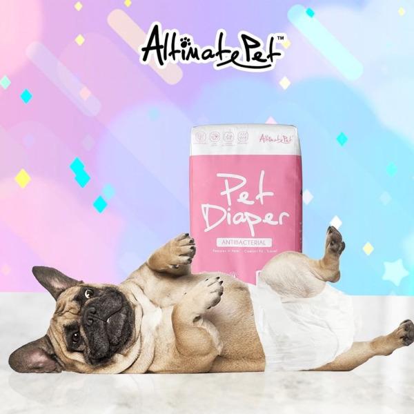 Tã Bỉm | Tã Quần Vệ Sinh Altimate Pet Diaper size MEDIUM 7-15kg (Gói 13 tã)
