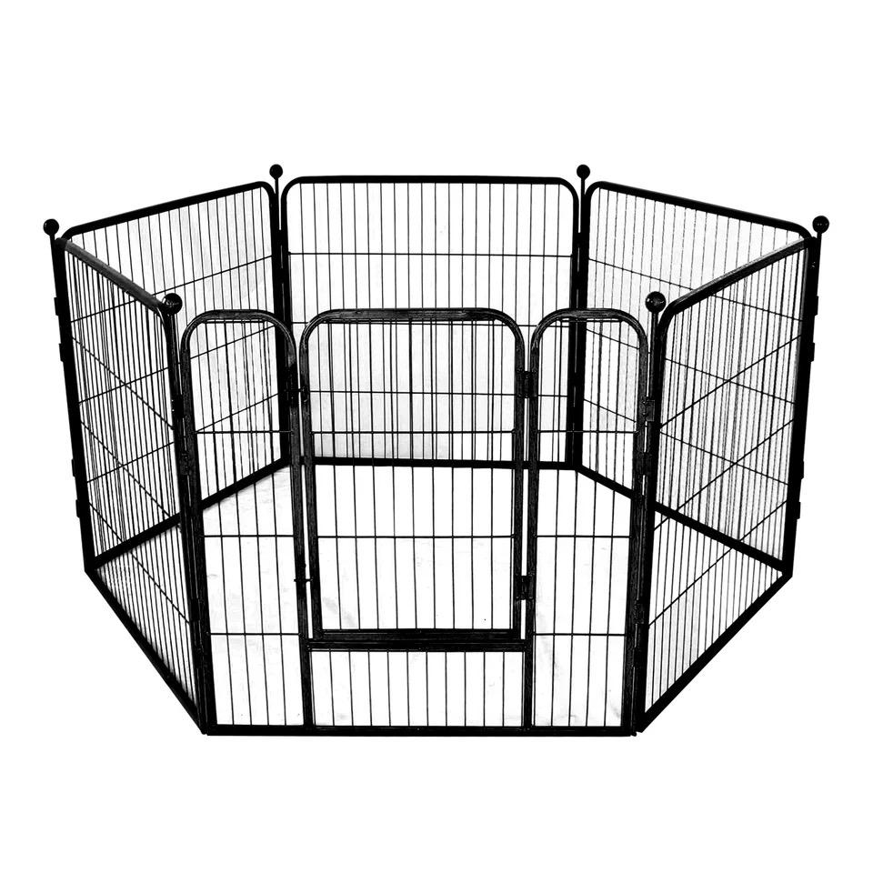 Hàng Rào Quây Sắt Sơn Tĩnh Điện [Bộ 6 Miếng Có Cửa]