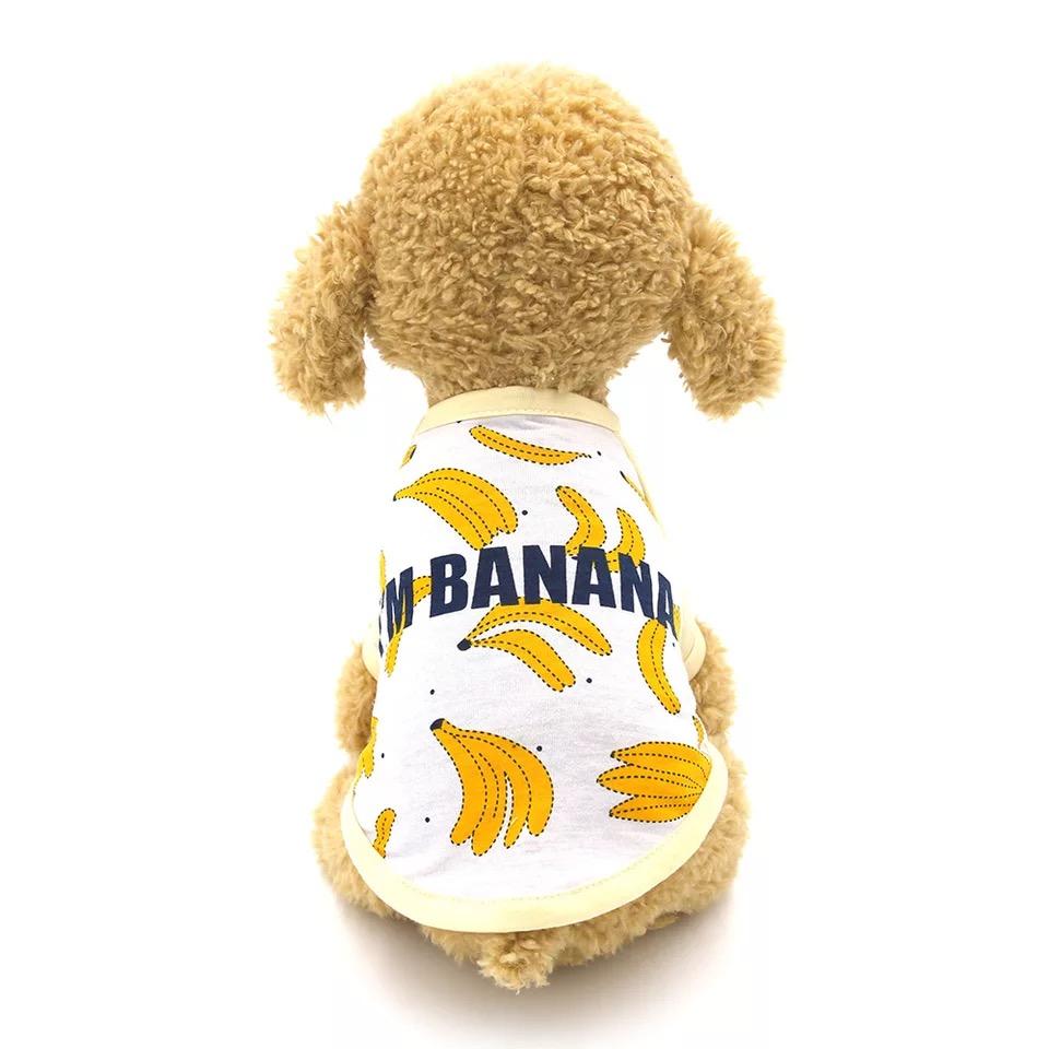 Áo Banana có tay [Size XS - Size L] 500g - 9kg