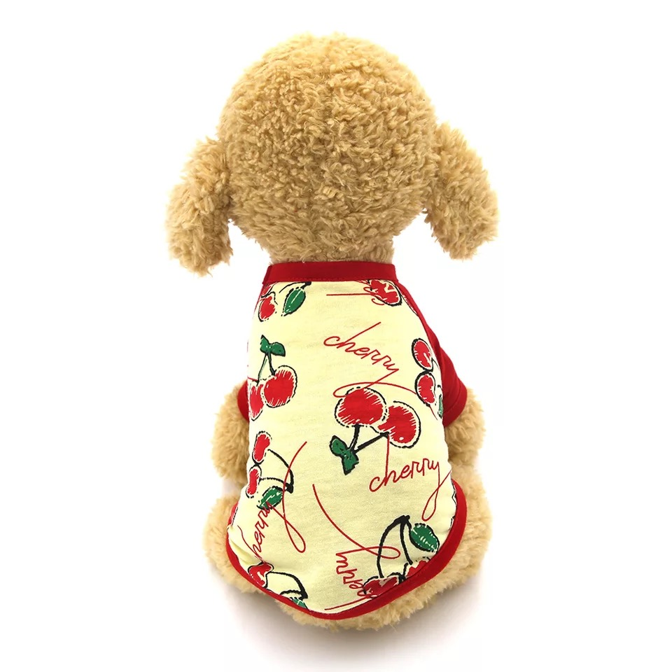 Áo Cherry có tay [Size XS - Size L] 500g - 9kg