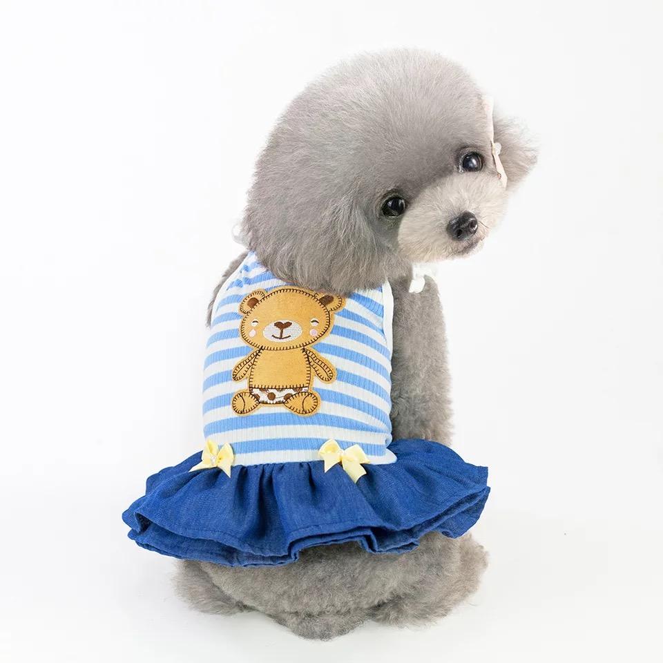Đầm Gấu Sọc Xanh [Size XS - Size XL] 500g - 10kg