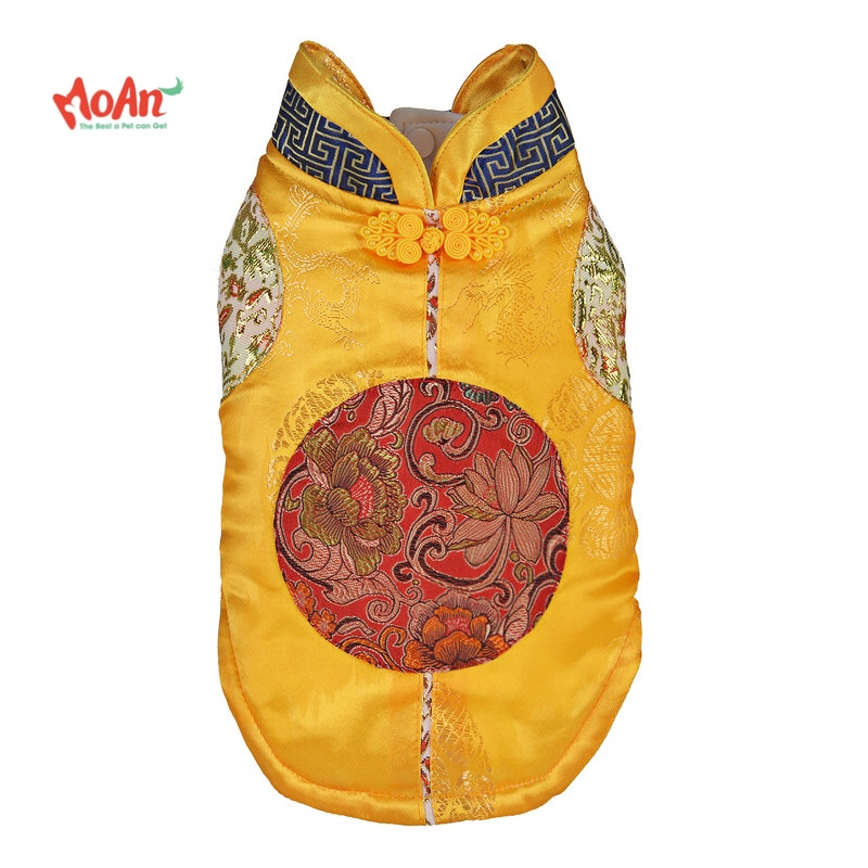 Áo Gấm Vàng T014 [Size S - Size 4XL] 1kg - 20kg