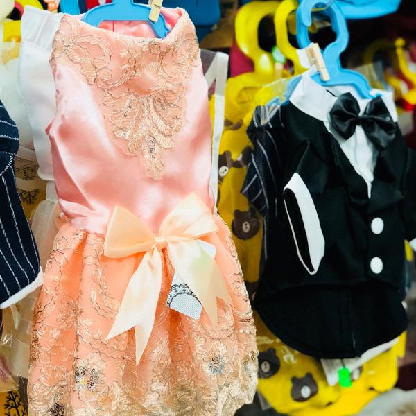 Đầm Ren Dạ Hội Kem Hồng [Size S - Size XL] 1kg - 10kg