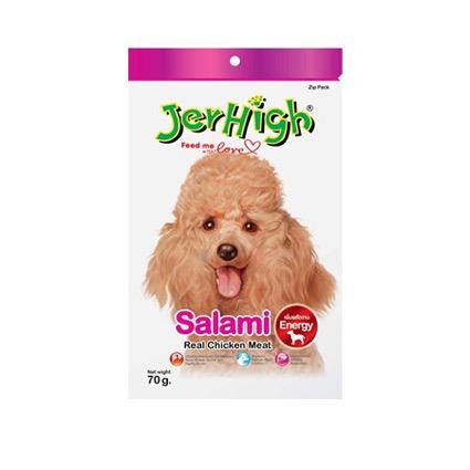 Bánh JerHigh Xúc xích Ý Salami 70g