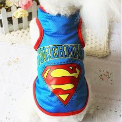 Áo Superman 3 Lỗ Xanh [Size XS - Size 2XL] 500g - 12kg