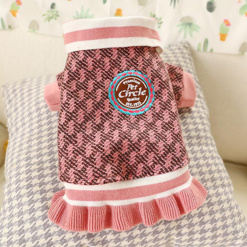 Đầm Pet Circle Hồng [Size XS - Size XL] 500g - 10kg
