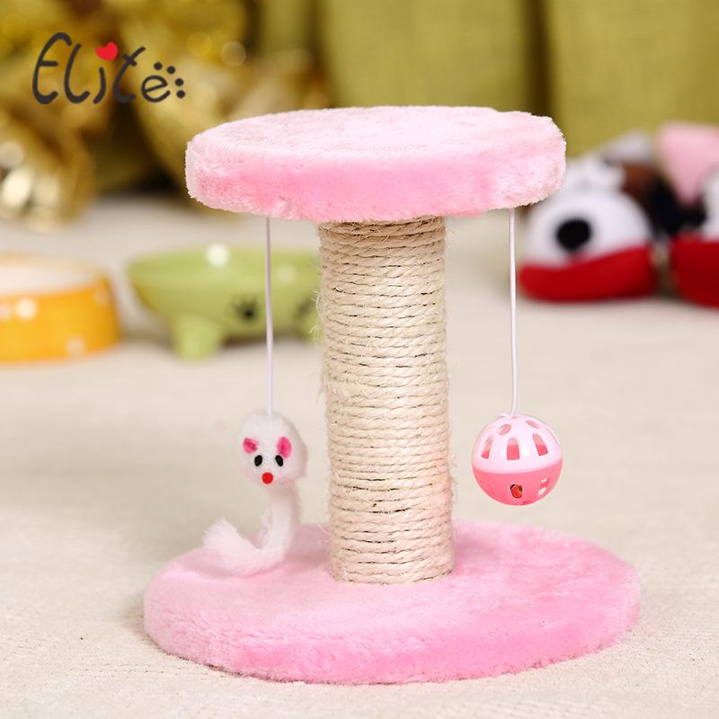 Trụ Cào Móng Đệm Tròn Cho Mèo Cat Tree TC007