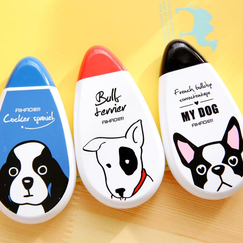 Bút Xoá Kéo Hình Cún Cocker Spaniel | Bull Terrier | Bull Pháp