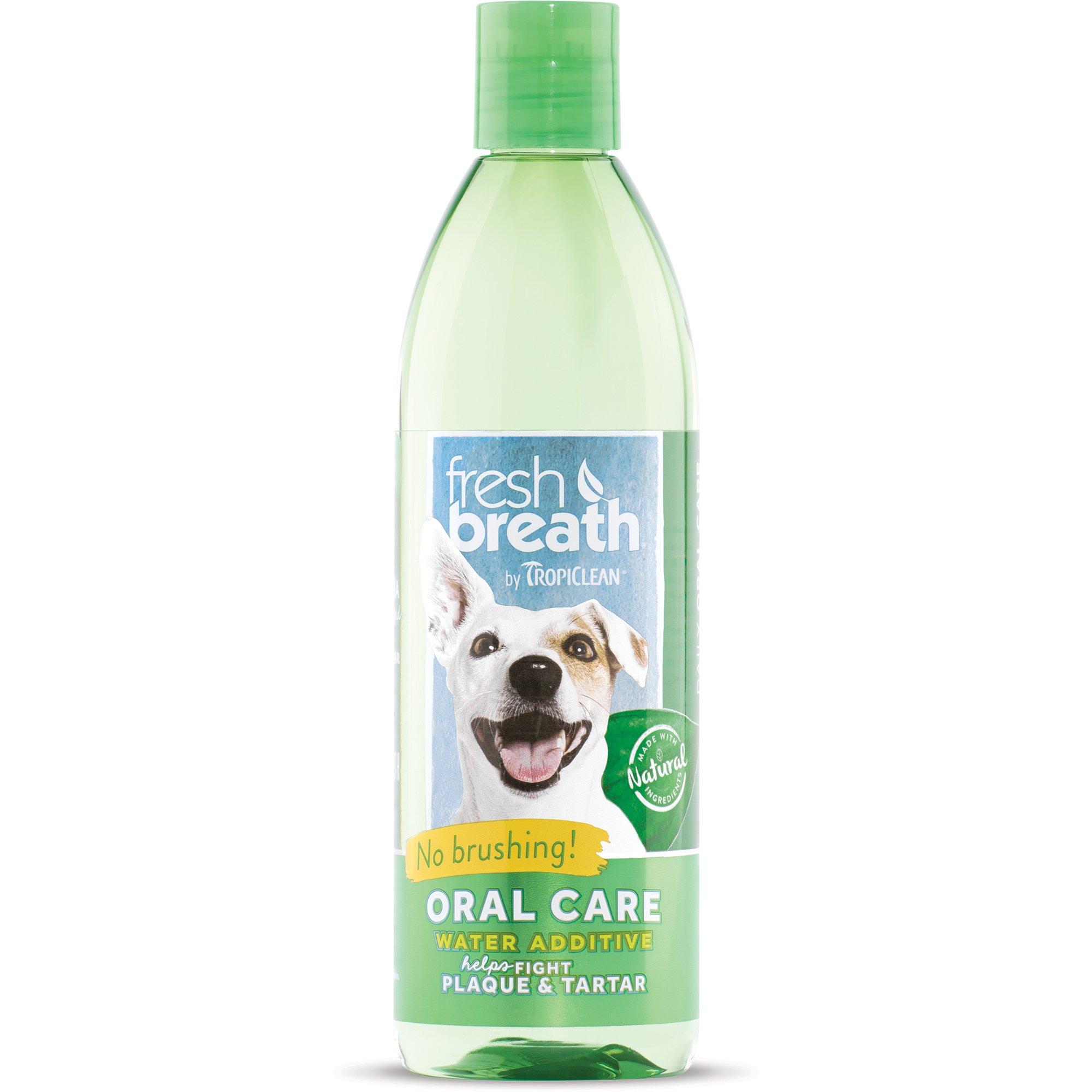 Nước Chăm Sóc Răng Miệng TROPICLEAN Fresh Breath Oral Care Water Addictive 16oz 473ml Mỹ