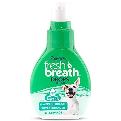 Nước Chăm Sóc Răng Miệng TROPICLEAN Fresh Breath Drops (Dạng Đậm Đặc) Mỹ 65ml