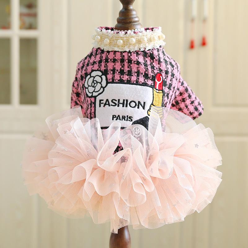 Đầm Fashion Paris Hồng [Size XS - Size XL] 500g - 10kg