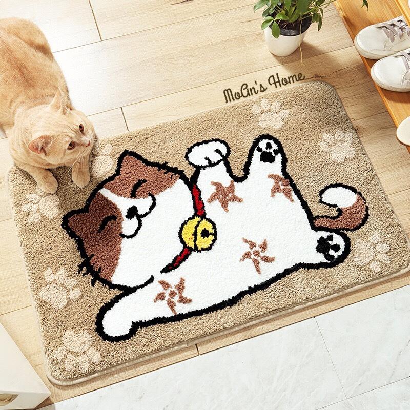 Thảm Chùi Chân Mèo TM005 45x65cm
