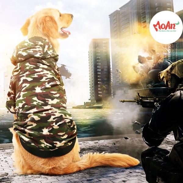 Áo Lính có Nón Bé Lớn [Size 3XL - Size 7XL] 15kg - 50kg