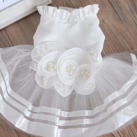 Đầm Ren Dạ Hội Trắng [Size S - Size XL] 1kg - 10kg