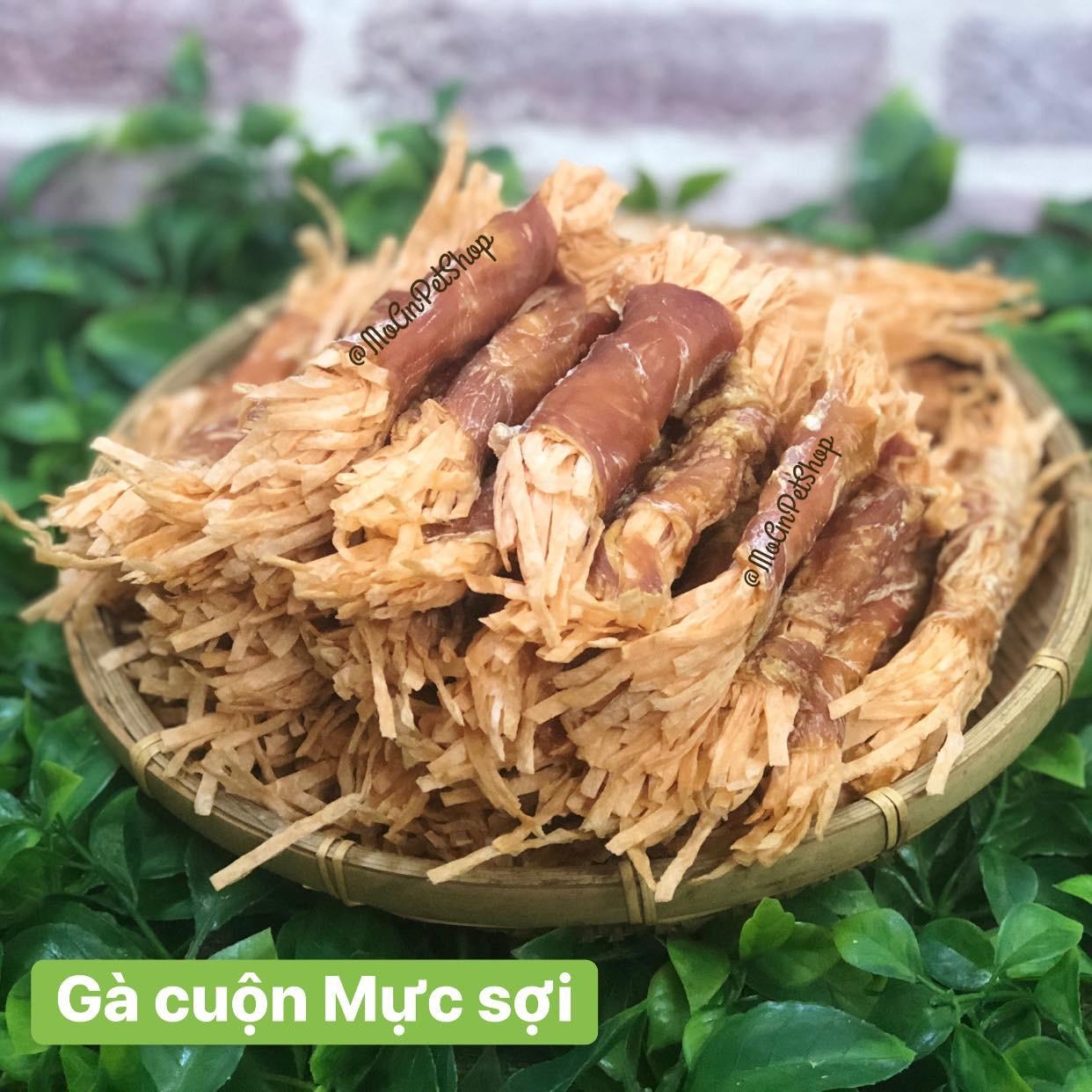 Gà cuộn Mực sợi Thái Lan