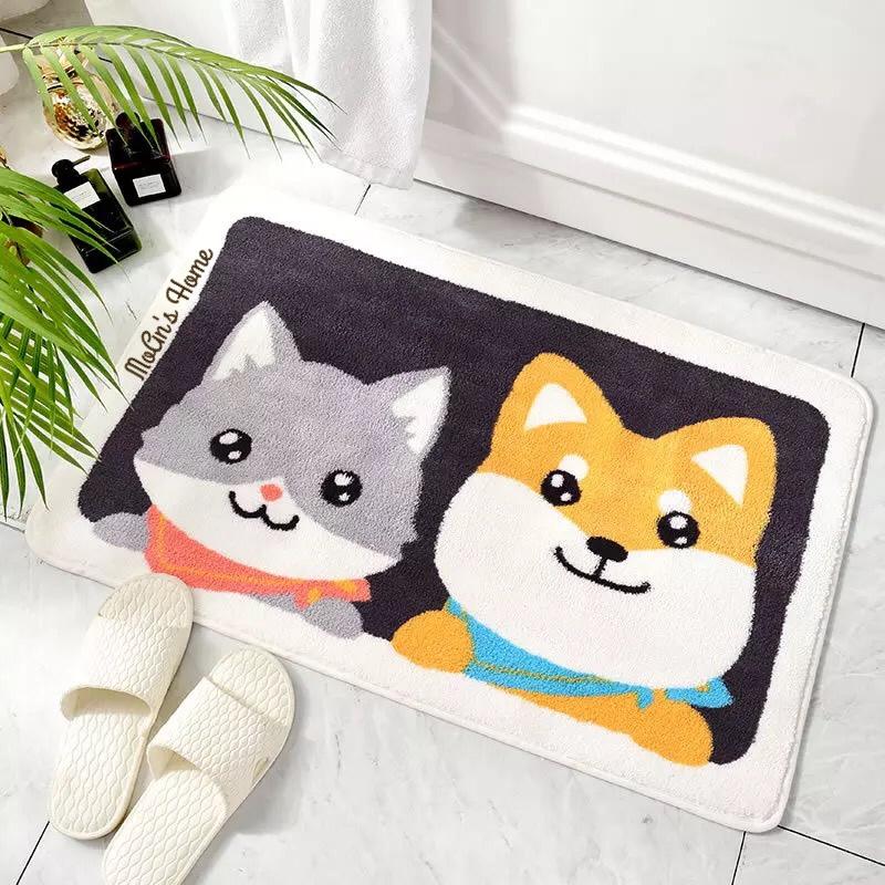 Thảm Chùi Chân Cún & Mèo 45x65cm