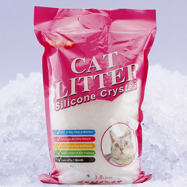 Cát Thủy Tinh CAT LITTER Silicone Crystals 3.8L