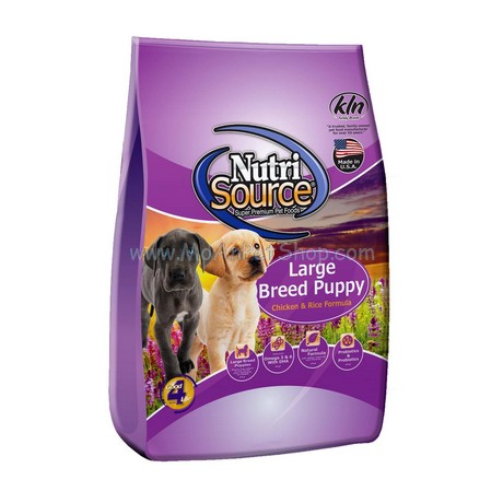 NUTRI SOURCE LARGE BREED PUPPY 13.6kg