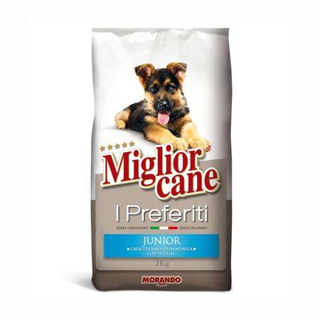 Morando Miglior Cane Junior 2kg [Thịt Bê Cao Cấp]