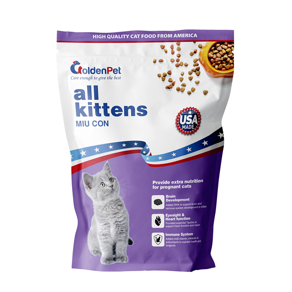 Hạt Mèo Golden Pet All Kittens Miu Con 900g