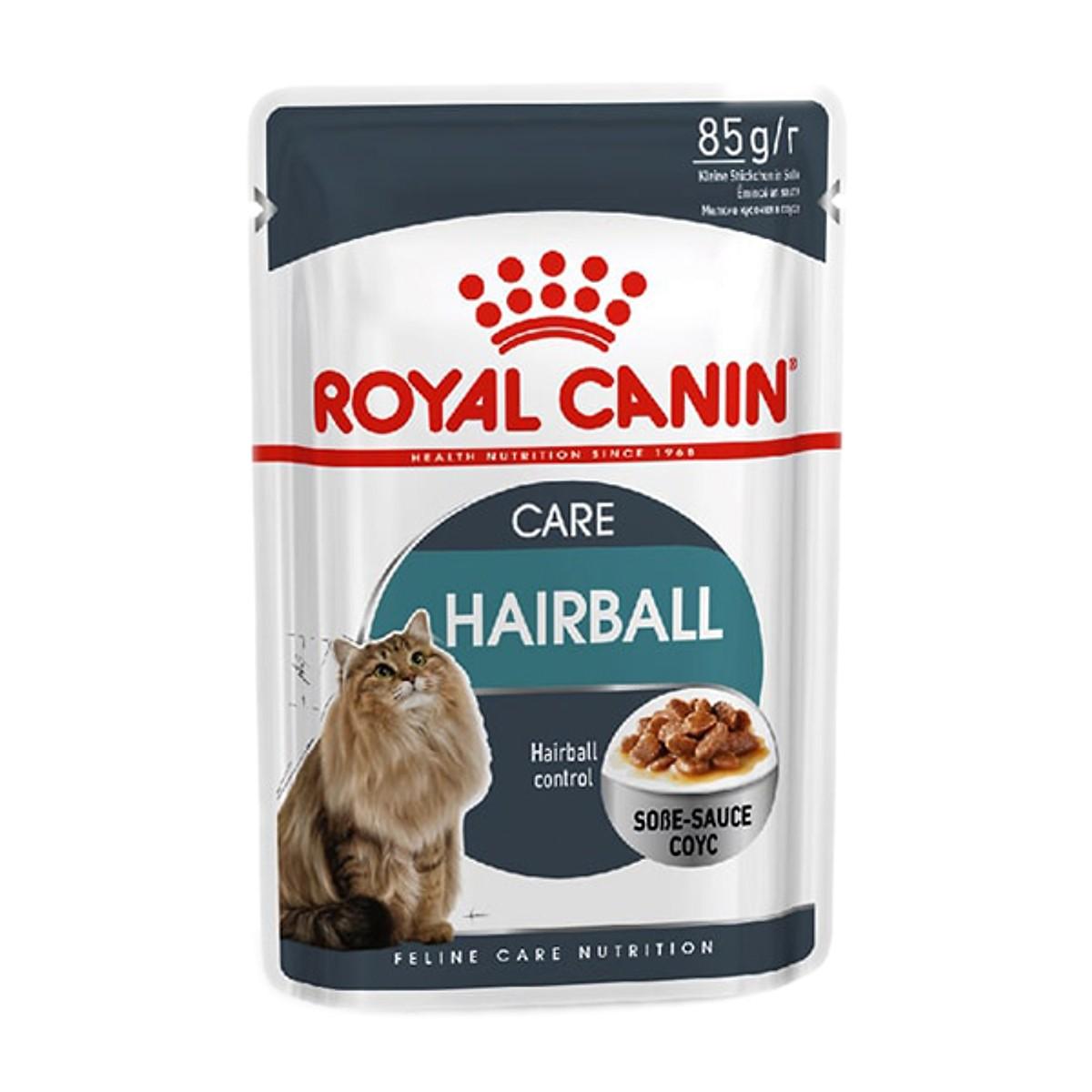 Pate ROYAL CANIN HAIRBALL cho Mèo 85g (12 gói)