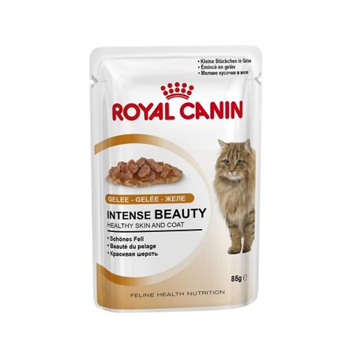 Pate ROYAL CANIN INTENSE BEAUTY Lông Khỏe Đẹp 85g (12 gói)