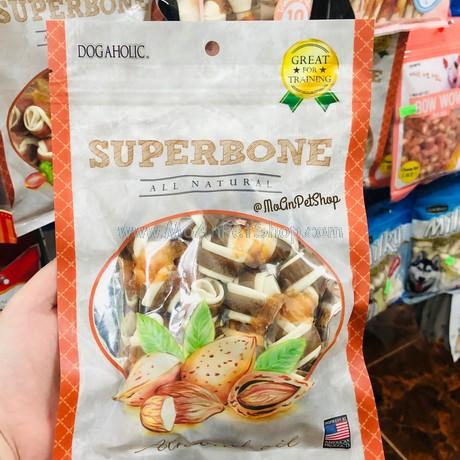 Xương Sữa cuộn Gà nhân Hạnh nhân SUPERBONE