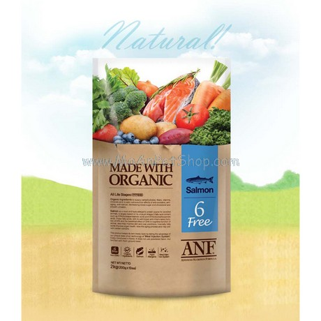 ANF Made with Organic Hữu Cơ Salmon Cá hồi 2kg