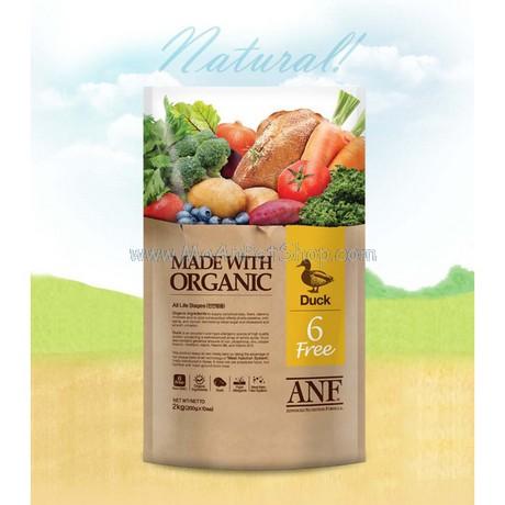 ANF Made with Organic Hữu Cơ Duck Vịt 2kg