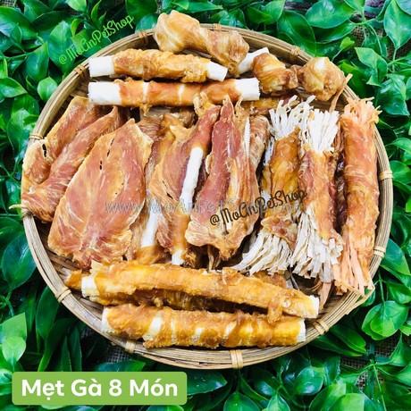 Mẹt Gà Mix 8 Món Thái Lan (hoặc Mix theo yêu cầu)