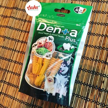 Bánh Xương Sạch Răng Denta Plus (size M 10 xương)