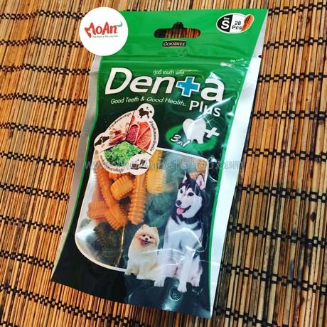 Bánh Xương Sạch Răng Denta Plus (size S 28 xương)