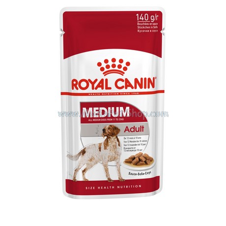Pate ROYAL CANIN MEDIUM ADULT 140g (12 gói)