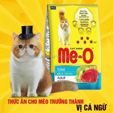 Hạt Mèo Me-O Cat Cá Ngừ Tuna 350g