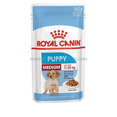 Pate ROYAL CANIN MEDIUM PUPPY 140g (12 gói)