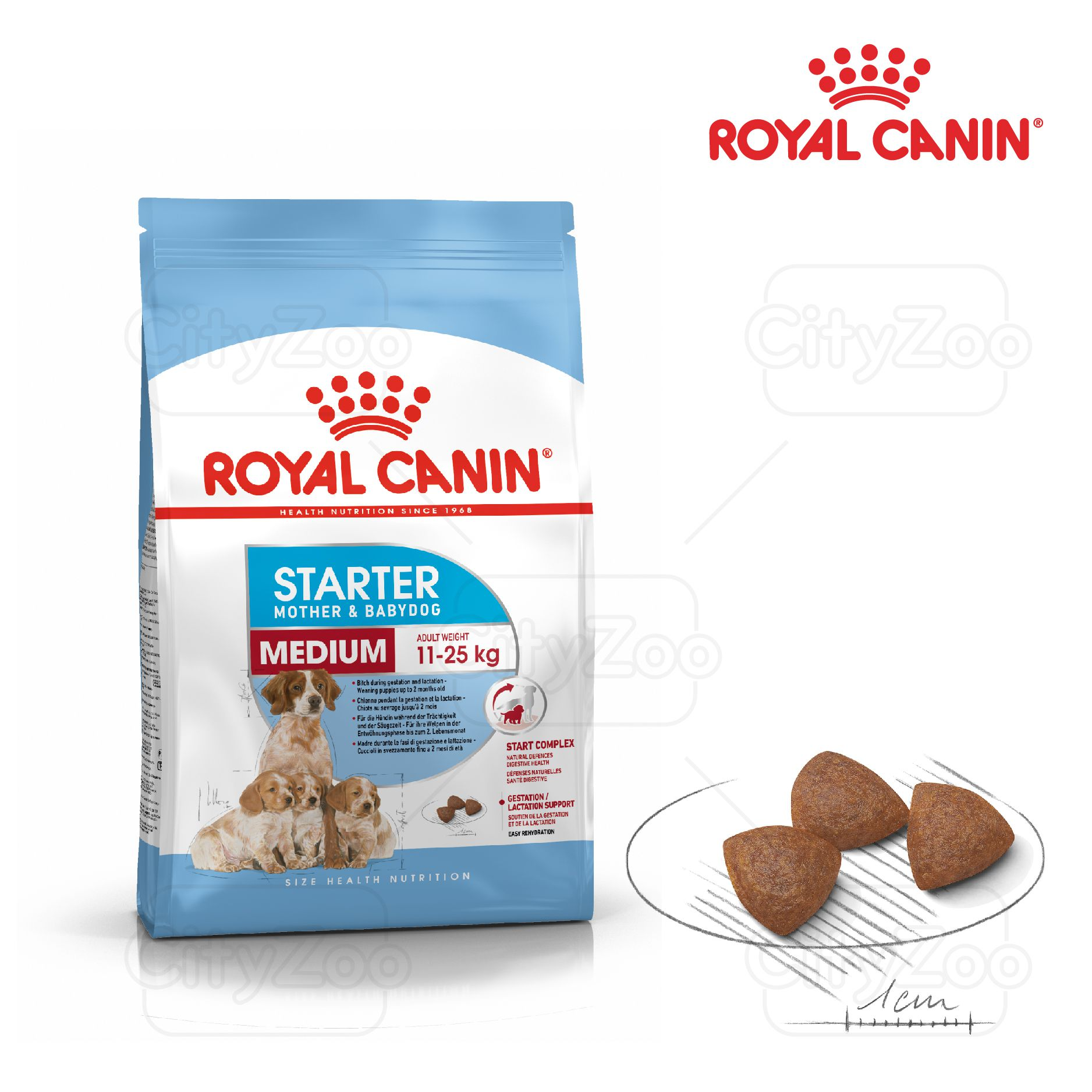 ROYAL CANIN MEDIUM STARTER MOTHER & BABYDOG 12kg