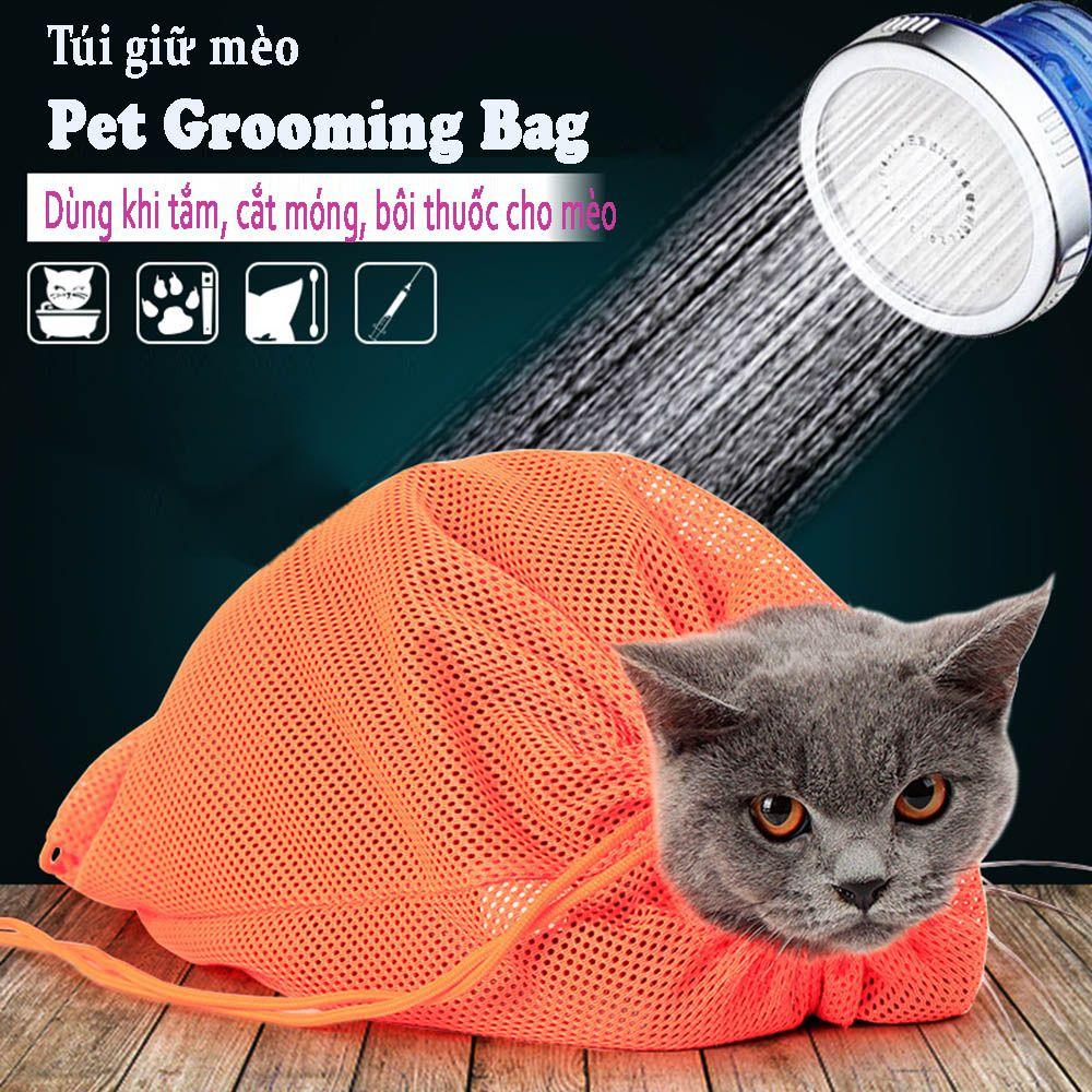 Túi Tắm Cho Mèo