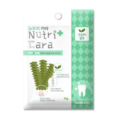 Bánh Xương Sạch Răng Nutri Cara [Trà xanh] 70g