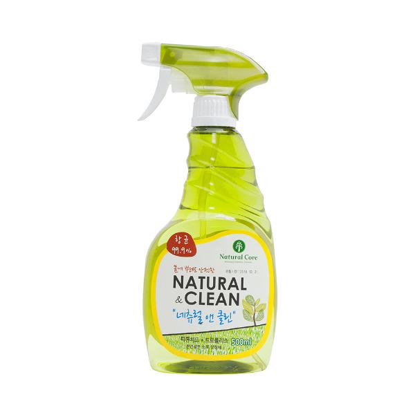 Xịt Diệt Khuẩn & Khử Mùi Natural & Clean Hàn Quốc