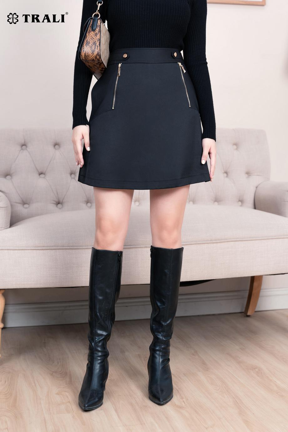 Chân váy A 30138 đen