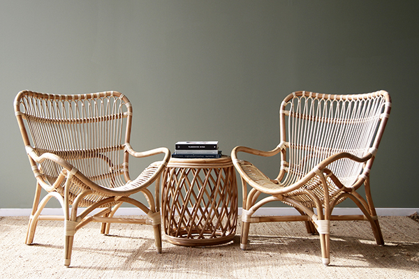 10 models of relaxing chairs made of beautiful rattan and bamboo material of previous decades