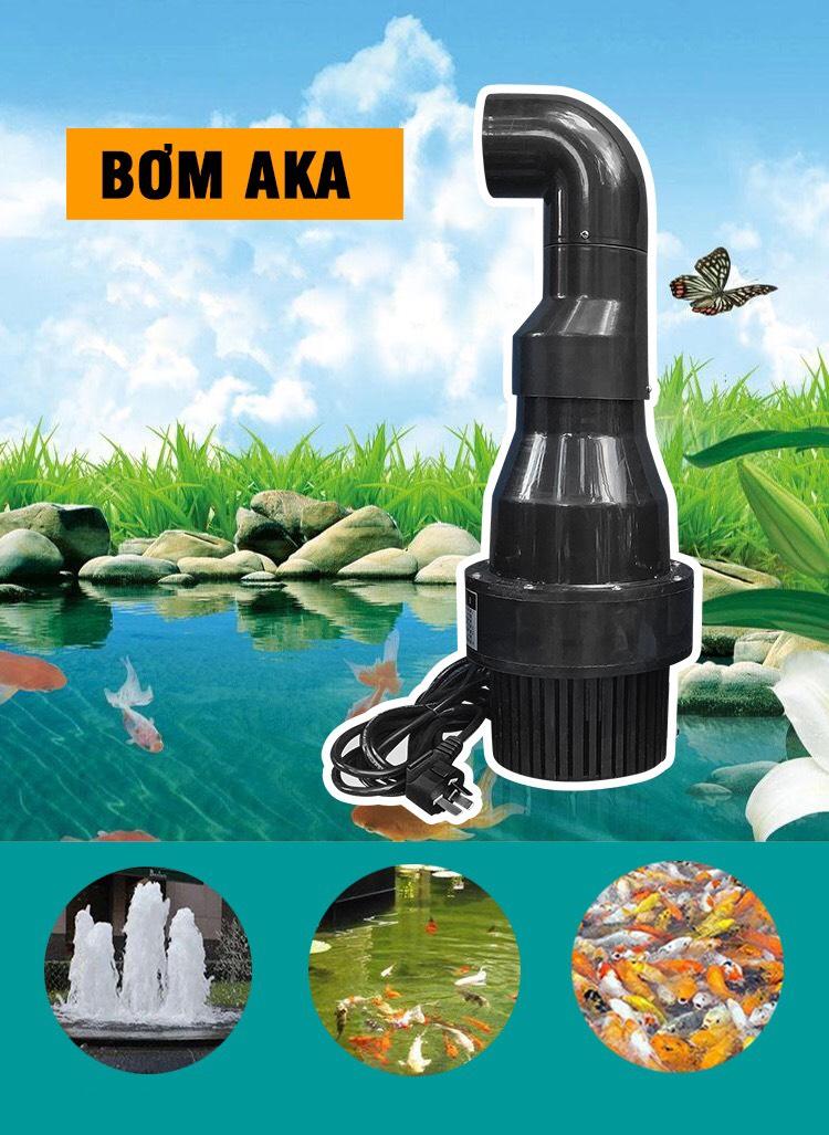 Bơm Tạt Hồ Koi AQUA KING AK 15000 – 18000 – 22000 – 25000