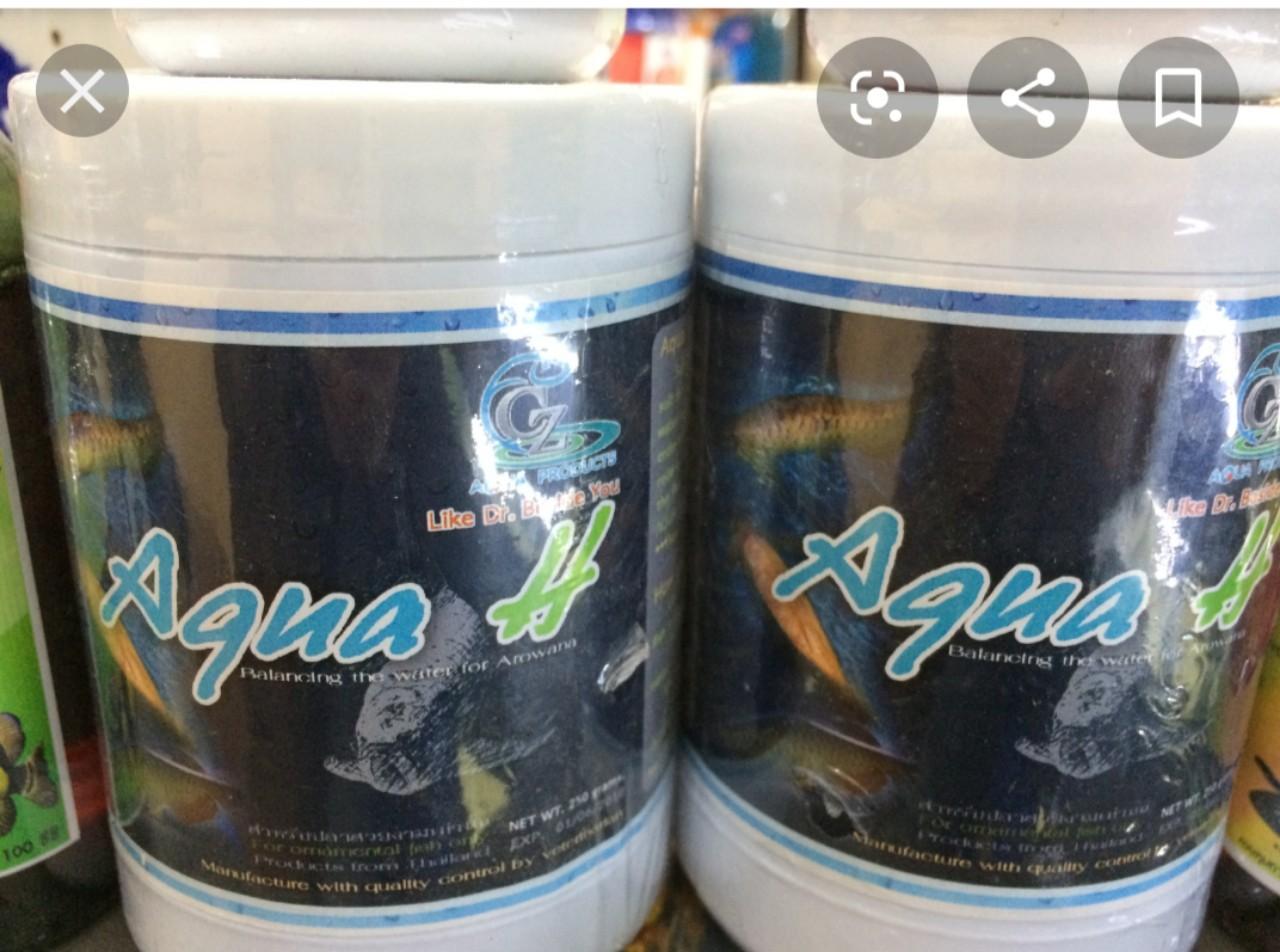 Thuốc chống shock nước và cấp cứu khẩn cấp cho cá rồng Aqua H