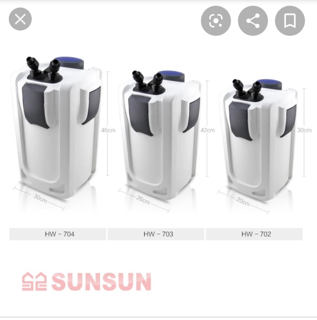 Lọc thùng SunSun HW 702A - 703A - 704A