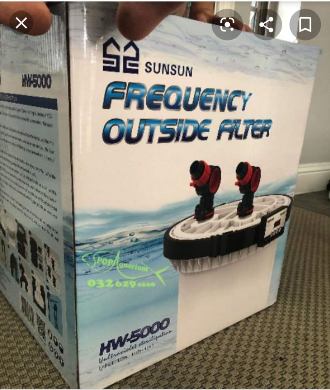 Lọc thùng SunSun HW 5000 cho bể cá 150cm - 180cm - 200cm