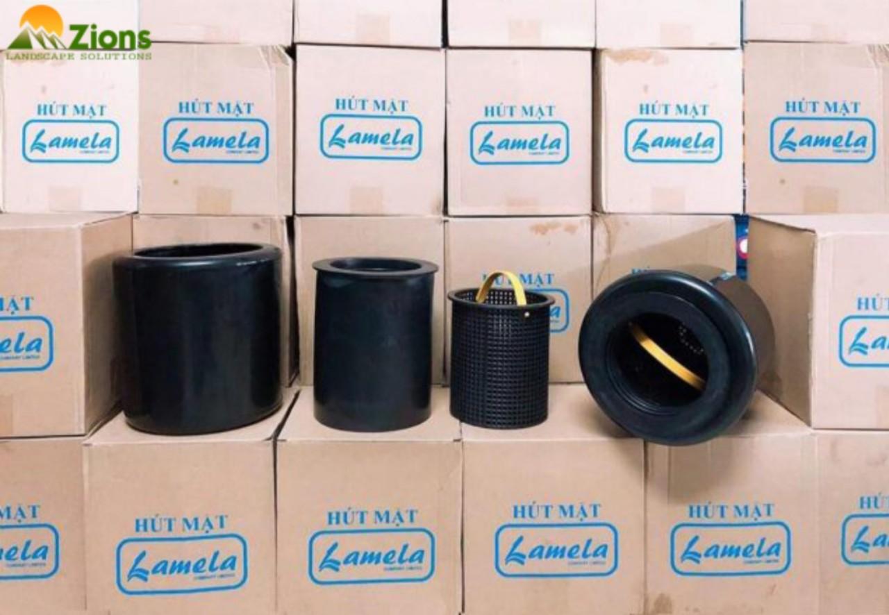 Hút Mặt Hồ Koi Việt Nam Lamela – cỡ ống 60mm – Pond Surface Skimmer