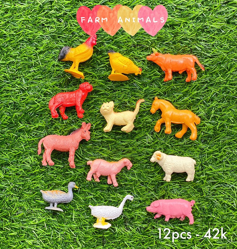 🐶Bộ vật nuôi trang trại - FARM ANIMALS 🐶
