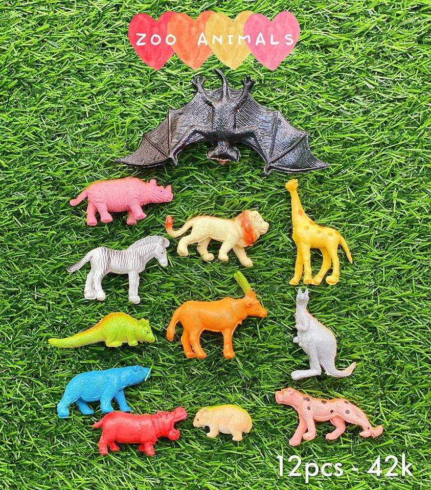 🐯Bộ vật nuôi trong sở thú - ZOO ANIMALS 🐯