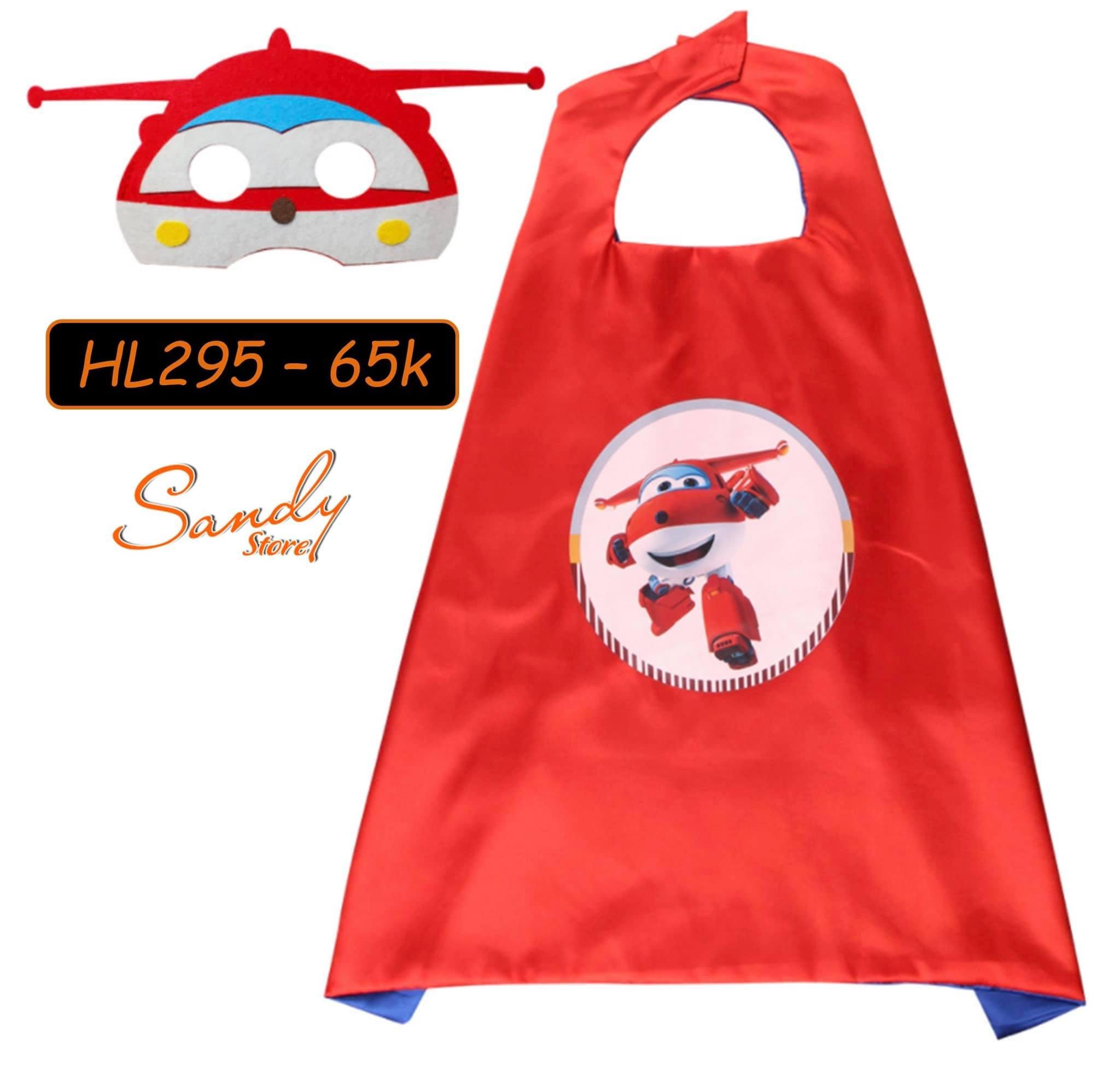 HL295 - Choàng Máy Bay + Mặt Nạ